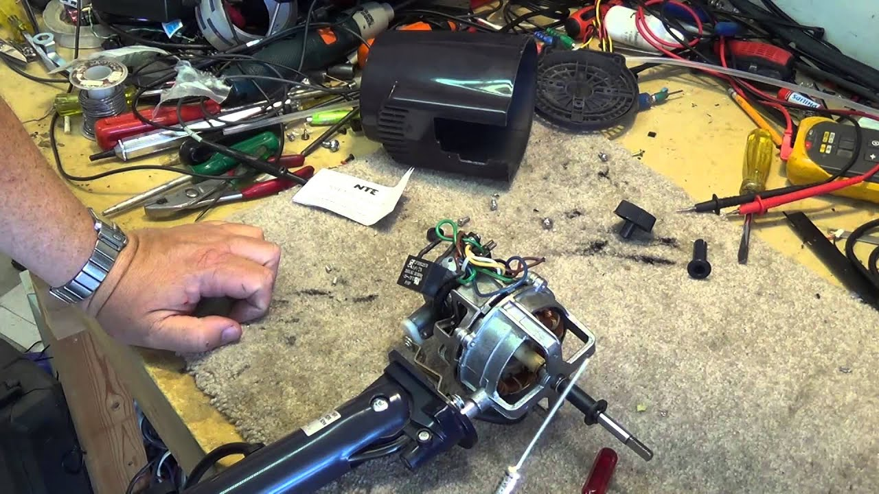 Diy Electric Fan Motor Repair