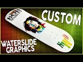 Bob Marley Custom Water Slide Graphic Skateboard!