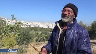 على أنغام الناي يعزف الحاج مصطفى طلبا لراحة باله - سوريا