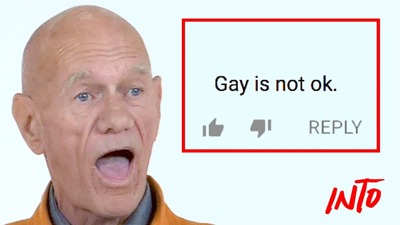 7fab3044f Old Gays Read Mean Comments - YouTube