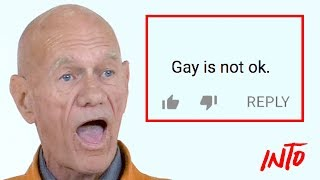 Old Gays Read Mean Comments