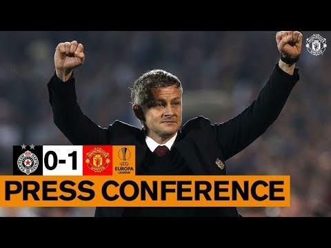 Ole Gunnar Solskjaer | Post Match Press Conference | Partizan Belgrade v Manchester United