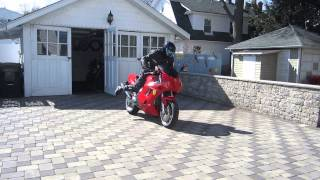 FERRARI MOTORCYCLES TEST RIDE