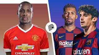 ОФИЦИАЛЬНО Два новичка Барселоны Новый форвард Манчестер Юнайтед Трансферы 2020
