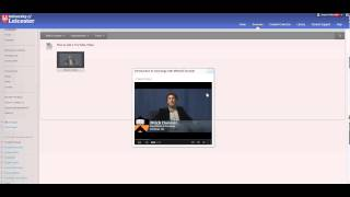 Add a YouTube video to Blackboard using the Mashup tool