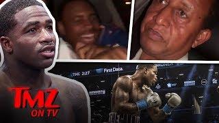 Boxer Goes 'Sicko Mode' In Uber!   TMZ TV