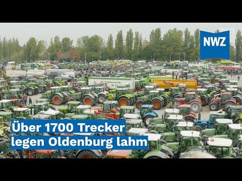 Agrardemo: Über 1700