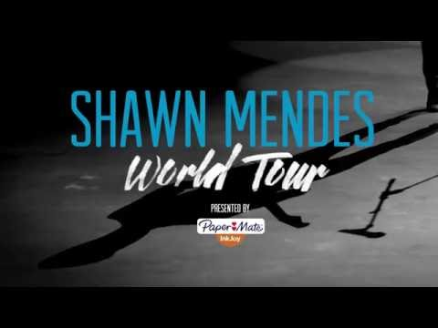 Shawn Mendes Tour with Paper Mate InkJoy