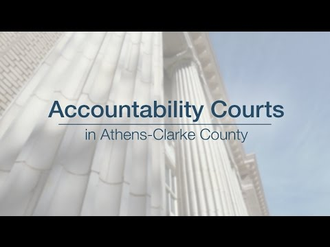 Athens-Clarke County Accountability Courts