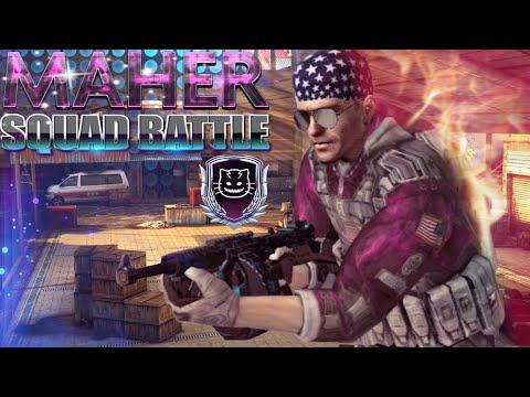MC5 SQUAD BATTLE MORTAR VS MURDER Only Mask (MOR MAHER)
