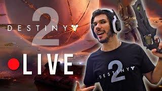 DESTINY 2 - LIVE DE LANÇAMENTO! CAMPANHA COMPLETA! Gameplay em Português PT-BR (Ps4 Pro)