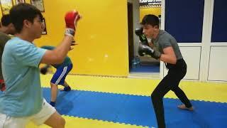 MMA ANTRENMANLARIMIZ CEBECİ DE BAŞLADI