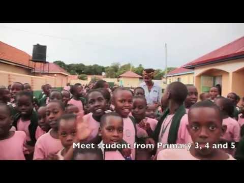 Visiting my old primary school in Uganda