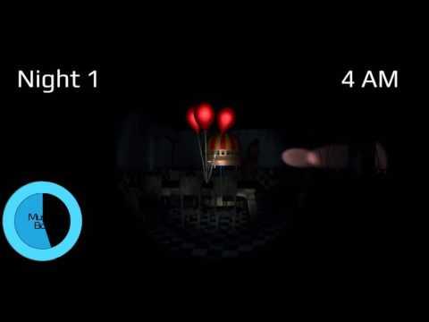 Overnight 2- FREE ROAM (FNaF 2 3D) V0.6.0