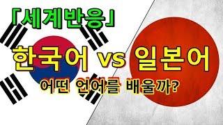 [해외반응] 한국어 vs 일본어, 어떤 걸 배울까?