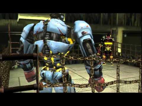 Прохождение игры Живая сталь(Real steel)-Ambush vs Skar