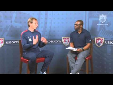 U.S. Soccer Interview with Jurgen Klinsmann: Style of Play
