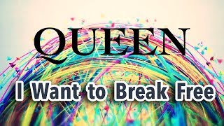 Queen ♪♫  I Want To Break Free (Single Remix) TRADUÇÃO