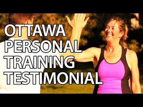 """Francine"" Ottawa Personal Training Testimonial Burke Cleland"