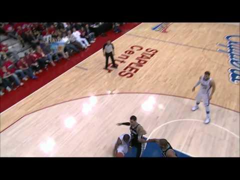 Chris Paul Amazing Circus Shot Vs Spurs (2012 NBA Playoffs  Game 4 )