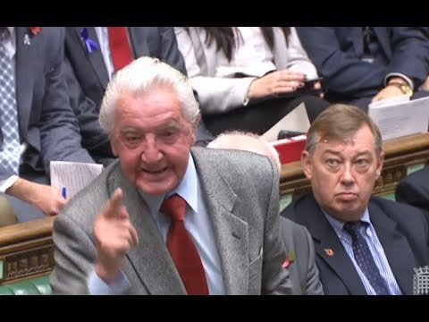 PMQs: Dennis Skinner vs Theresa May - Wednesday 1st November
