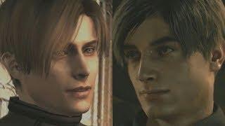 Resident Evil 2 but it's full of Resident Evil 4 references