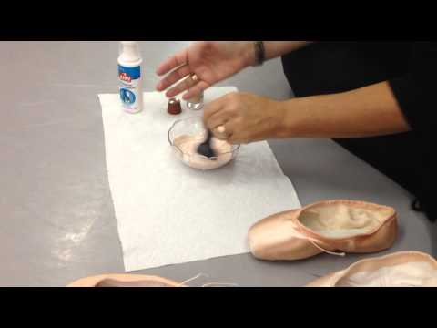 Pancaking Pointe Shoes