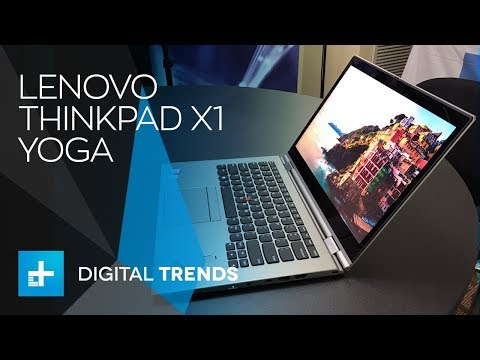 Lenovo ThinkPad X1 Yoga 3rd-Gen - Hands On Review at CES 2018