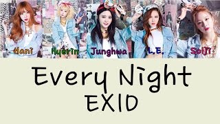 EXID – EVERY NIGHT (매일밤) (VER.2) Color Coded Lyrics [Rom/Eng] 1080p Mp3
