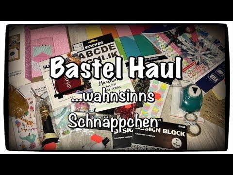 Bastel Haul (deutsch), Tiger, KIK, Xenos Haul, DIY, Bastelidee, Scrapbook