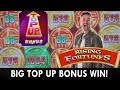 💸 Big TOP UP Bonus WIN 🎰 Rising FORTUNES ⛩️ Trying Out NEW Wolf Ridge #ad