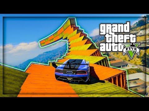 WALLRIDE KOJI NE OBECAVA... ! Grand Theft Auto V - Lude Trke w/Cale thumbnail