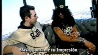 Entrevista a Slash en Jugate Con Todo 95