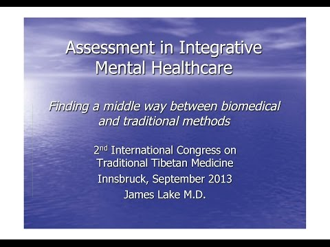 Dr. James Lake Finding a middle way
