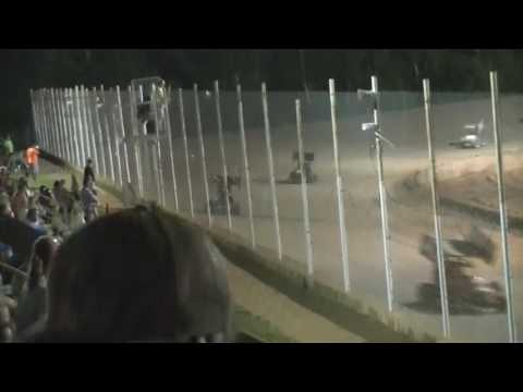 6/4/16 Northwest Florida Speedway #17 Aaron Buscavage Mini Sprint Feature