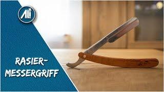✅Rasiermesser-Griff aus Birnbaumholz ⎮ Schrott veredeln ⎮ DIY