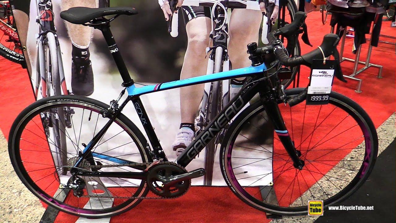2016 Garneau Sonnix Women Road Bike Walkaround 2016 Salon Velo
