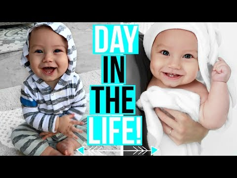 A Day in the Life of the World's Happiest Baby!