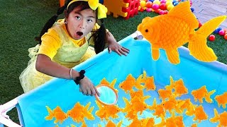 Download Jannie Pretend Play Catch Fish Carnival Games for Kids Mp3 and Videos