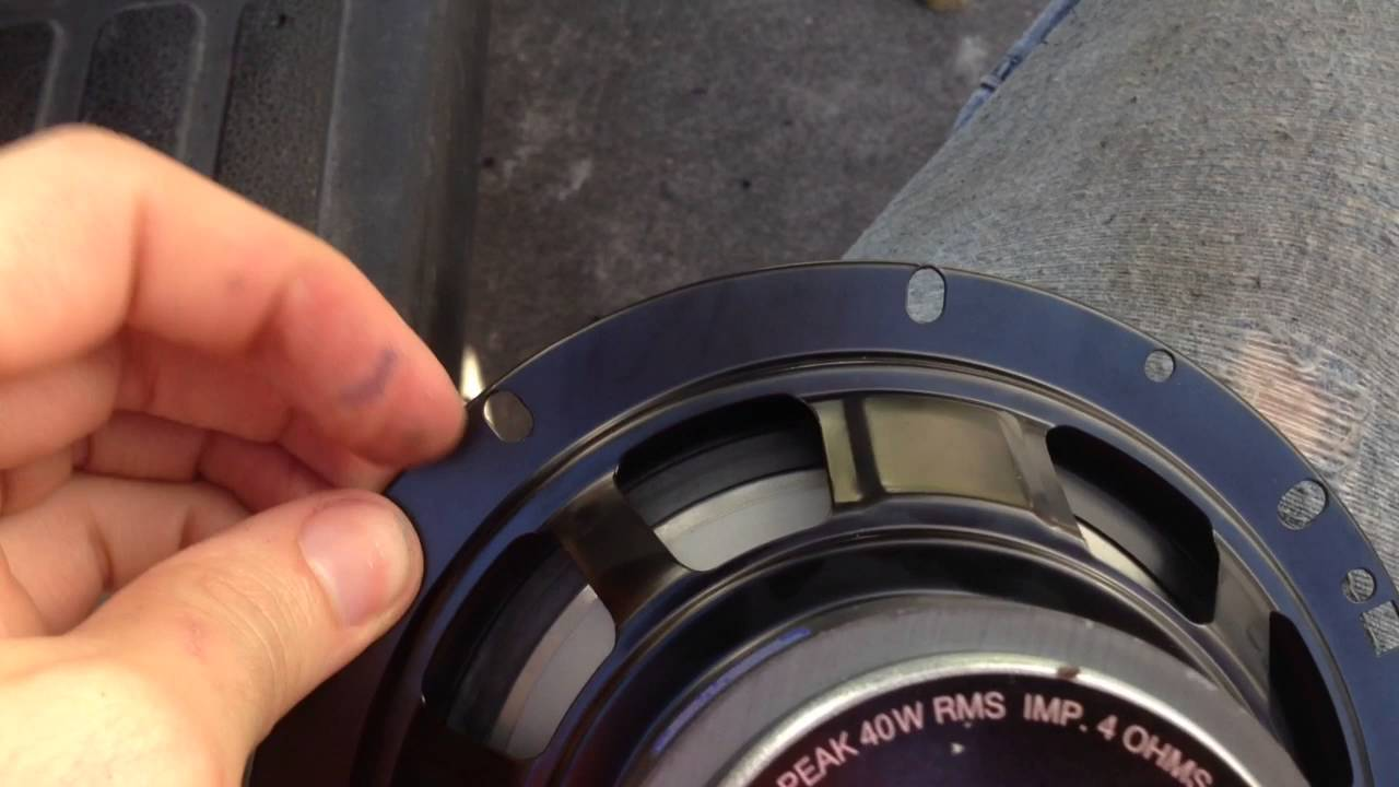 medium resolution of 03 suburban rear door speaker upgrade