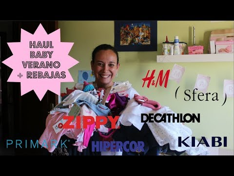 HAUL BABY VERANO + REBAJAS 2018 from YouTube · Duration:  18 minutes 45 seconds