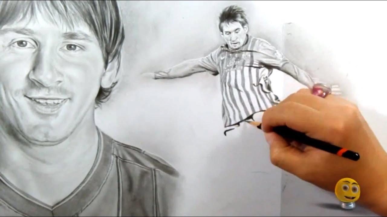 Leonel Messi  Retratospeed por Pau Negrete Marn  YouTube