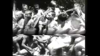 Кадры хроники 1930 х годов без звука