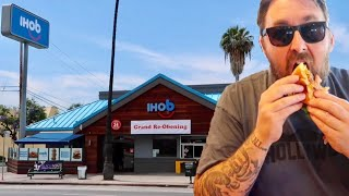 IHOb - International House Of Burgers / IHOP Restaurant Name Change & Store Overlay / Food Review