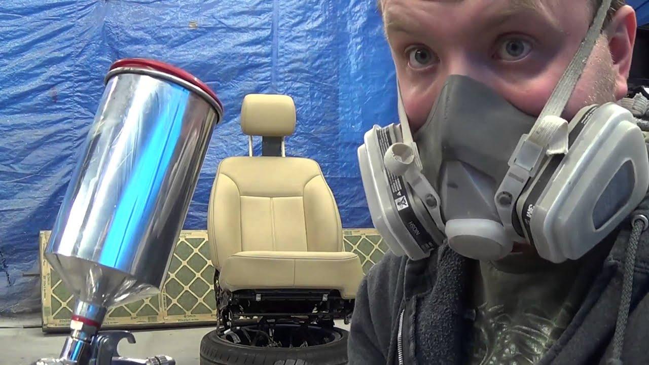 Покраска салона на Авто (сидения)