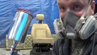 Покраска салона на Авто (сидения)(решил сделать тест по покраске автомобильного сидения . думаю этот вариант имеет право на жизнь :), 2014-02-27T08:00:57.000Z)