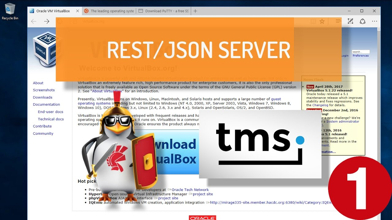 Creating a REST Server on Apache Linux using Delphi and TMS XData - Part 1:  Installing Ubuntu Linux