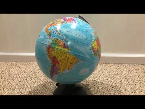 A Picture Of a New Globe For 10 Hours
