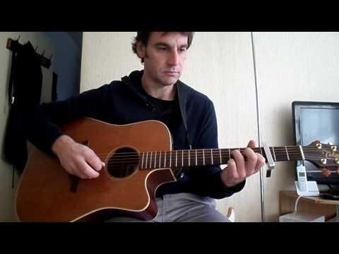 Les bobos - Renaud - comment jouer tuto guitare YouTube En Français