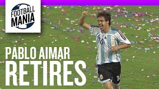 Pablo Aimar Retires From Football - Argentina Goals & Highlights